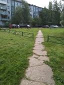 Установка ограждения во дворе многоквартирного дома №13 корпус 3 по ул. Попова